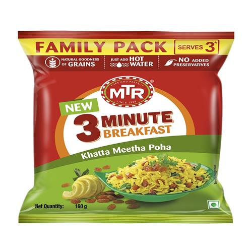 MTR POHA FAMILY PACK 160g