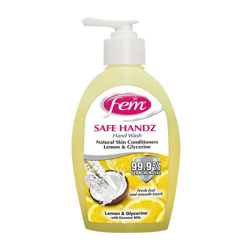 FEM LEMON HAND WASH 185ml