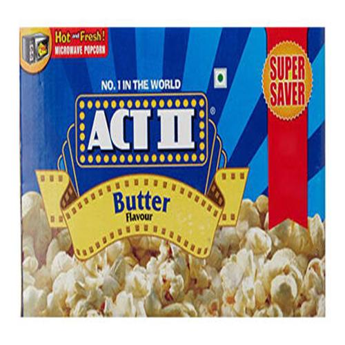 ACT-2 BUTTER POPCORN MICROWAVE 297gm