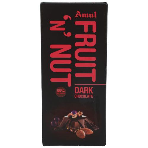 AMUL FRUIT N NUT CHOCOLATE 150GM
