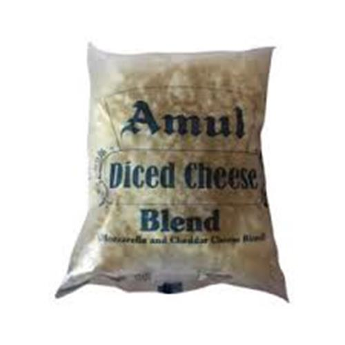 AMUL DICED CHEESE BLEND 200GM