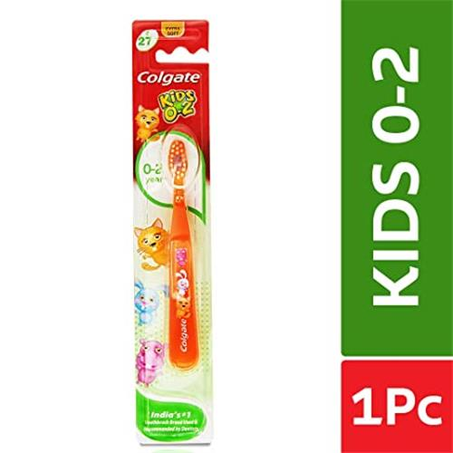 COLGATE TOOTHBRUSH KIDS 0-2 EXTRA SOFT.