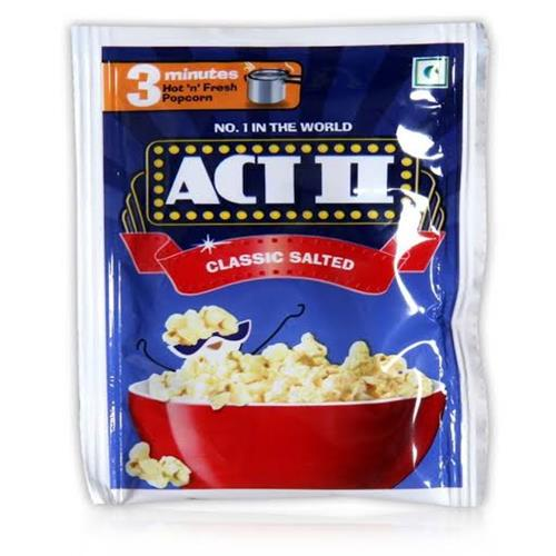ACT-2 CLASSIC SALTED POPCORN 90 gm