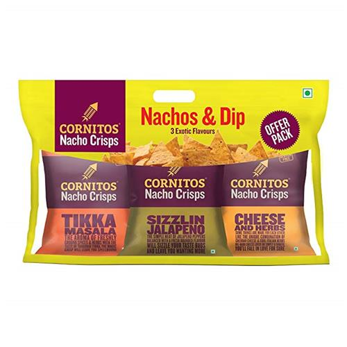 CORNITOS NACHOS COMBI PACK 205g