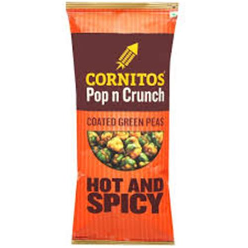 CORNITOS HOT&SPICY GREEN PEAS 26 Gm