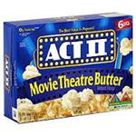 ACT-2 POPCORN MOVIE THEATRE BUTTER 70g