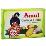 AMUL GARLIC&HERBS BUTTER 100GM