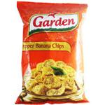 GARDEN PEPP.BANANA CHIPS 100GM