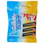 GILLETTE GUARD 3 CARTRIDGES