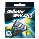 GILLETTE MACH3 8 CARTRIDGES..