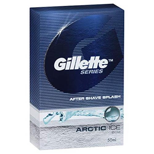 GILLETTE AFTER SHAVE ARCTIC ICE 50ml.