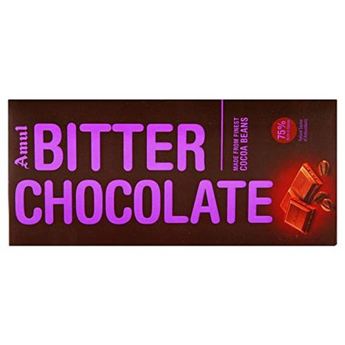 AMUL BITTER CHOCOLATE 150GM