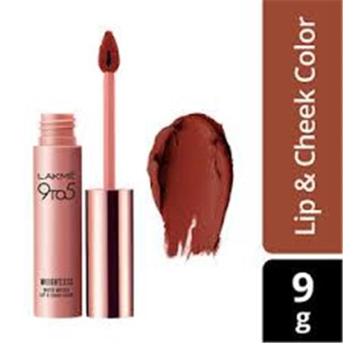 LAKME 9TO5 LIP CHEEK COLOR BRICK BLOOM