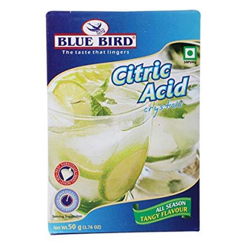 BLUE BIRD CITRIC ACID 50gm